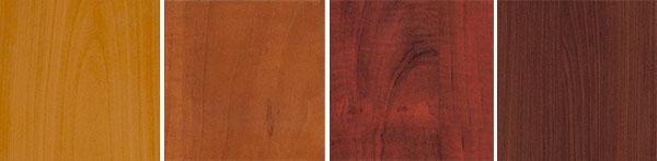 Варианты оттенков мебели груша
