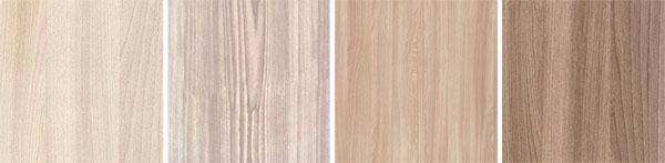 Варианты оттенков мебели ясень