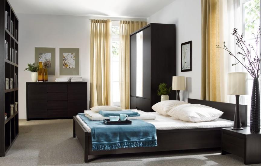 Спальня BRW Каспиан (венге)