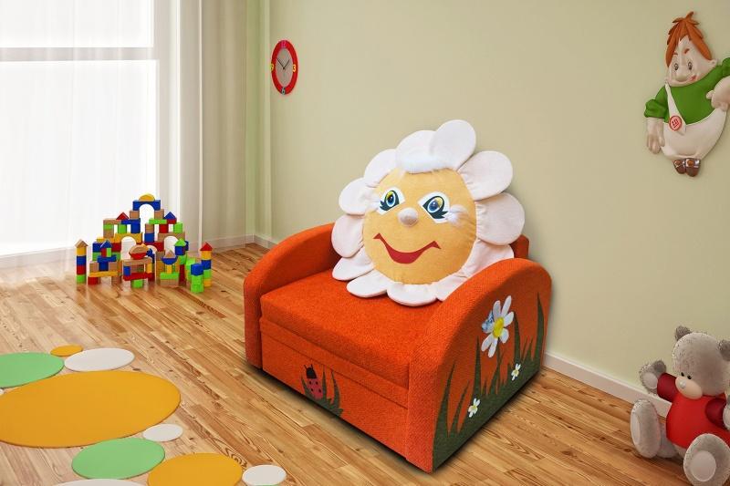 Детский диванчик М-Стиль Ромашка