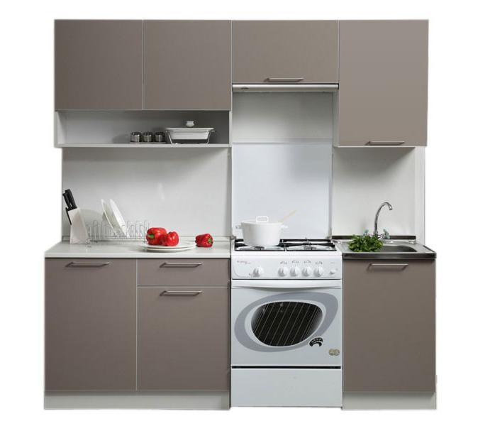 Кухонный гарнитур Симпл 2100 с нишей (II категория)