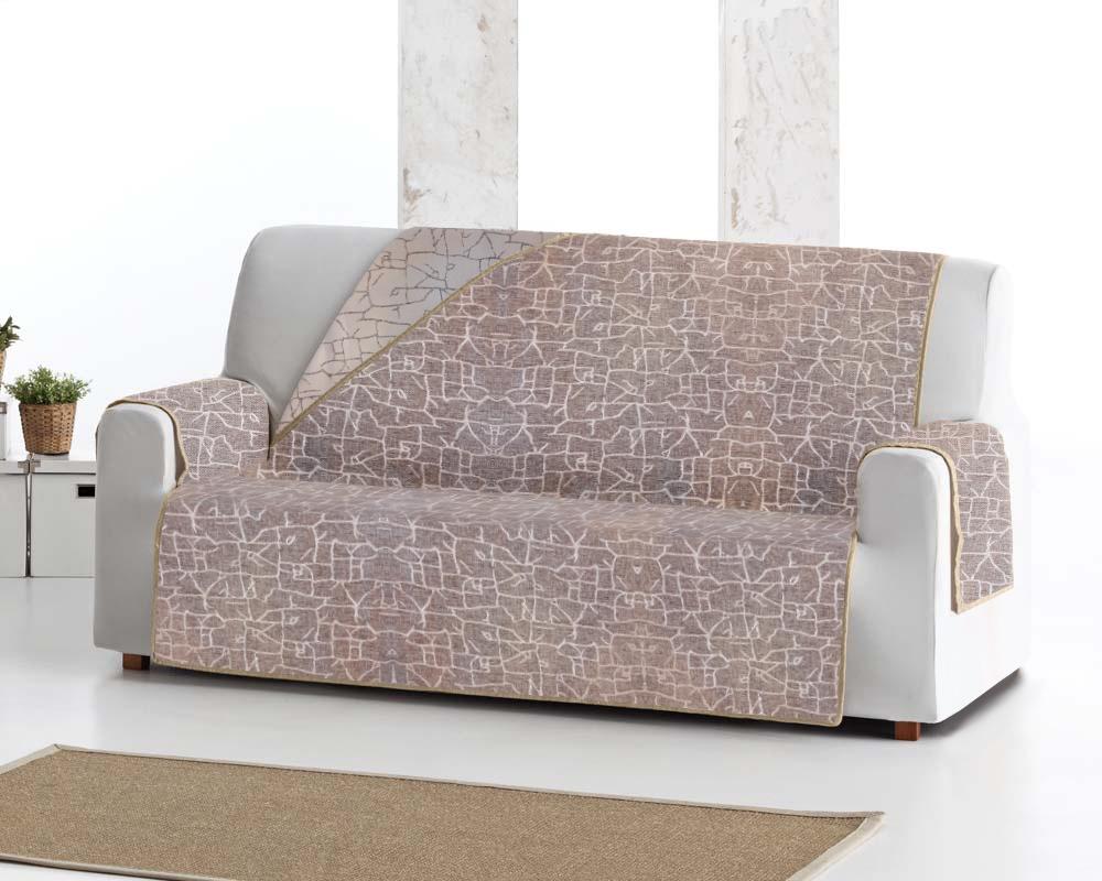 Накидка на трехместный диван Медежда Одри двухсторонняя