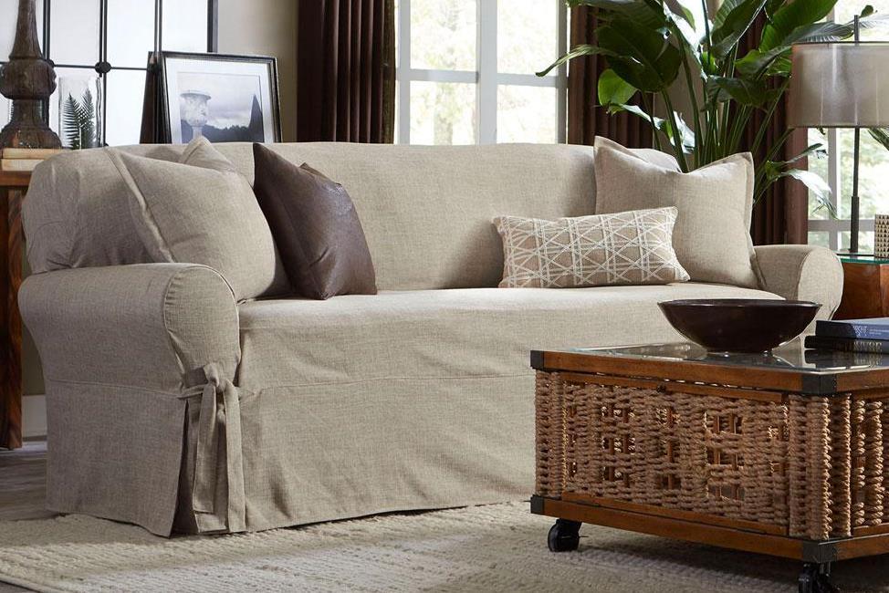 Чехол на трехместный диван Медежда Леон