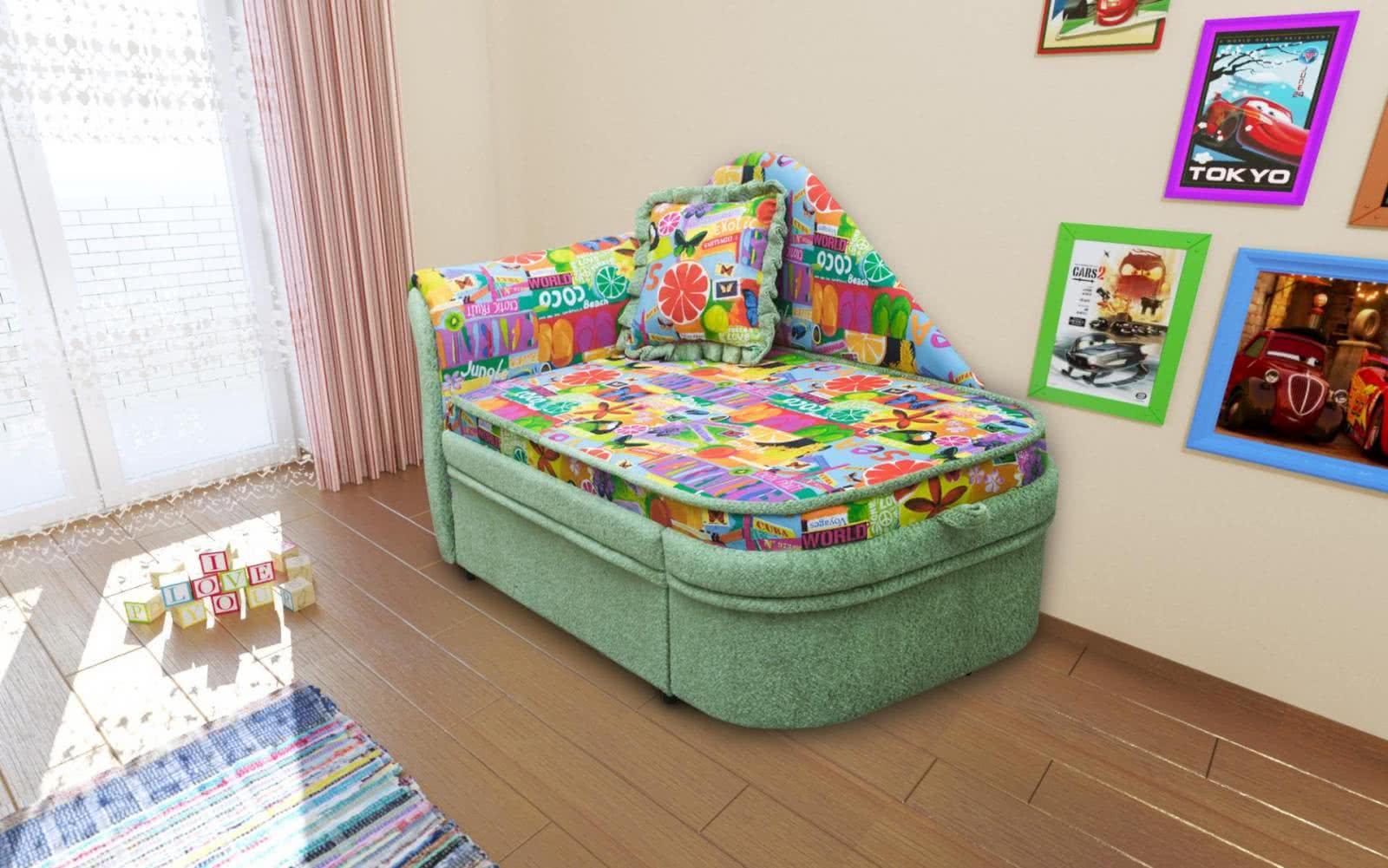 Детский диванчик М-Стиль Алиса левый
