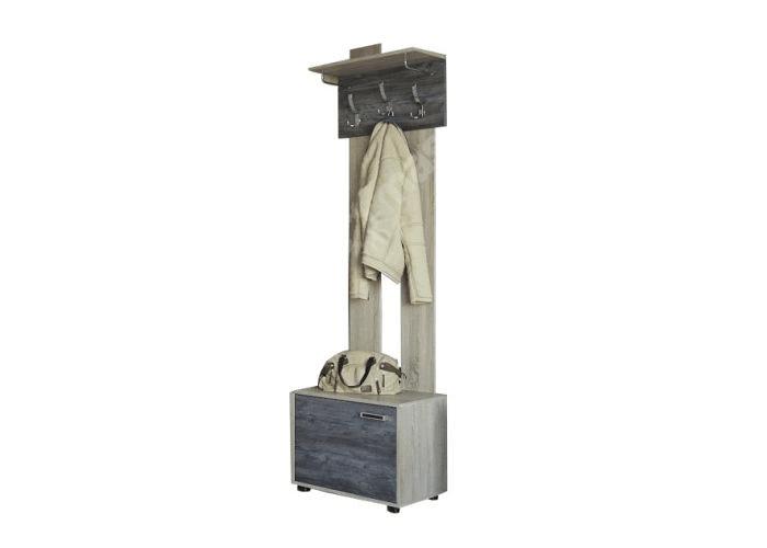 Вешалка с обувницей SV-мебель Визит-1