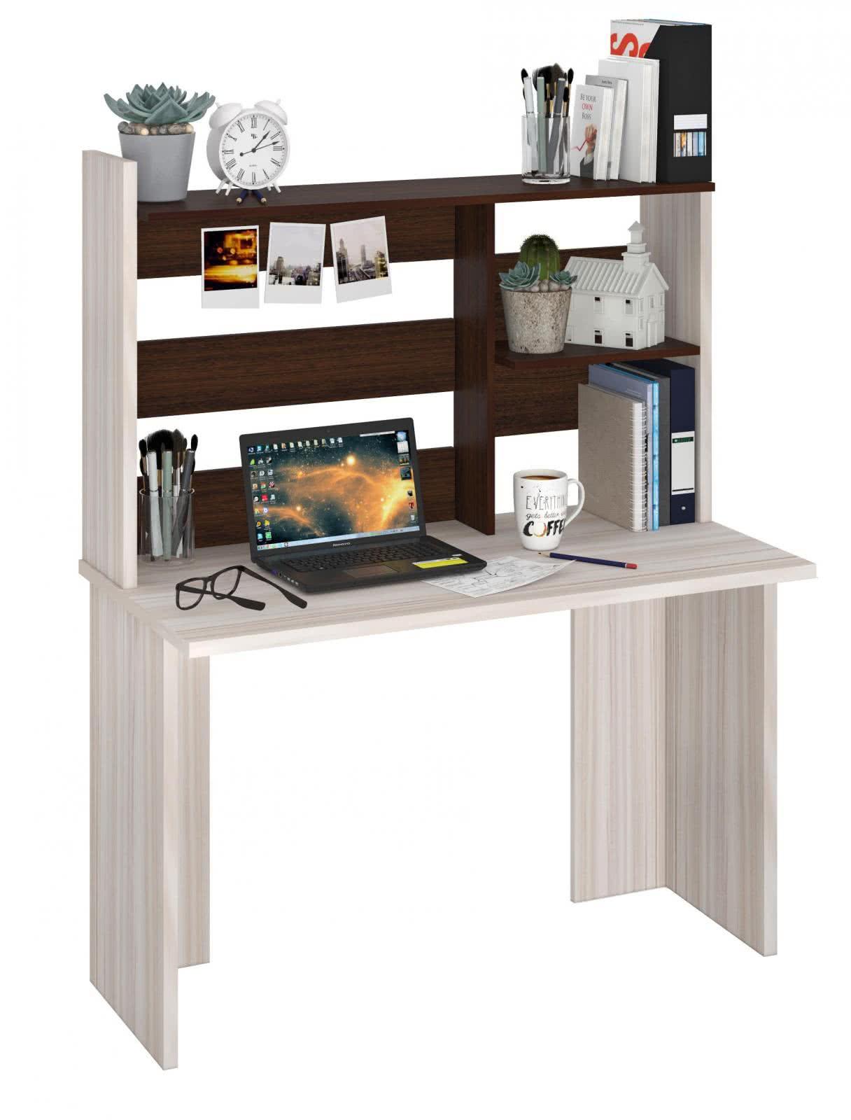 Компьютерный стол Мэрдэс СКЛ-Прям120(без тумбы)+ НКЛ-120