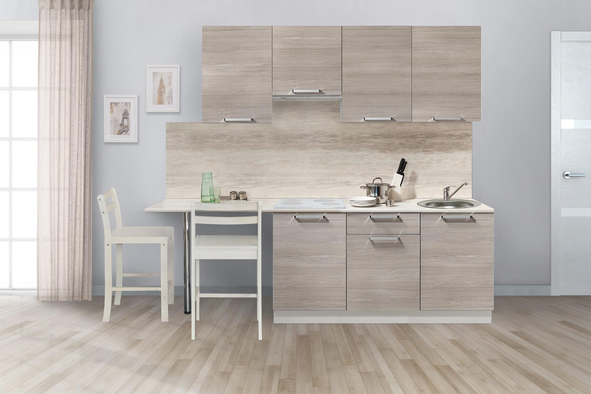 Кухонный гарнитур Симпл 2300 (I категория)