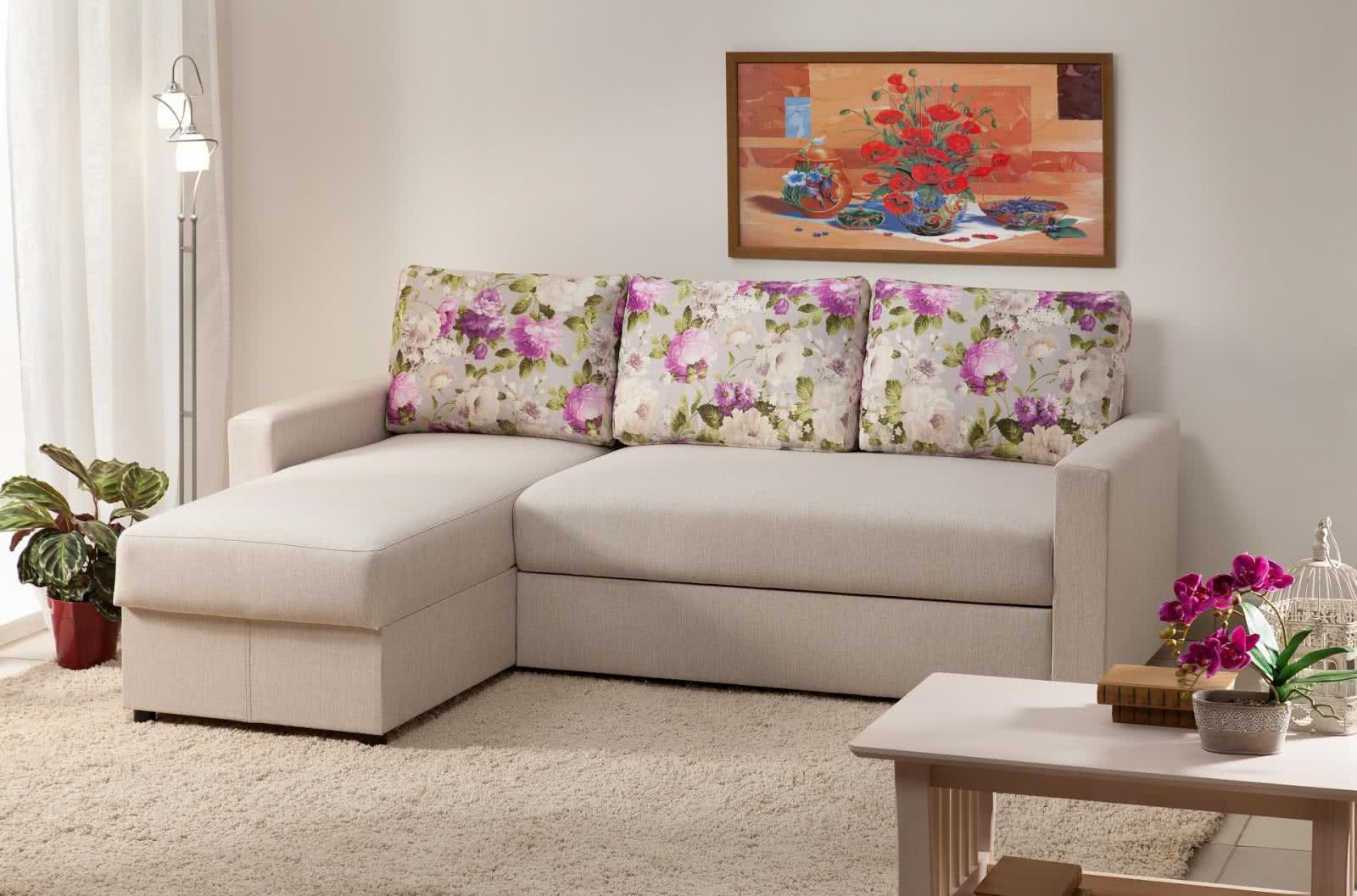 Угловой диван Боровичи Виктория 2-1 comfort 1400