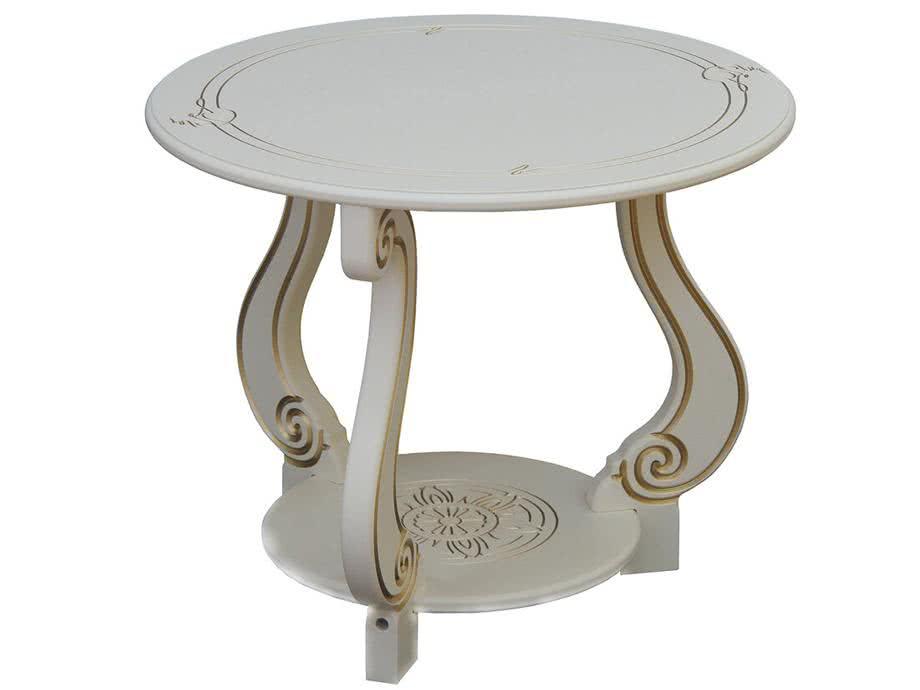 Журнальный столик Мебелик Грация (М)