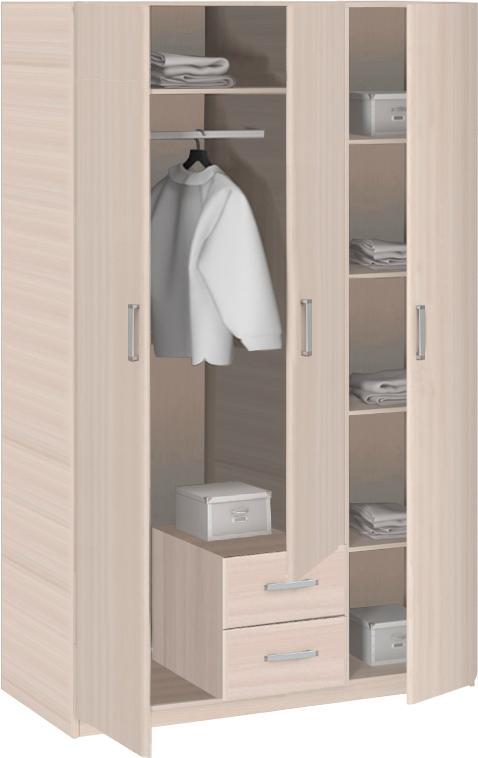 Шкаф 3-дверный Боровичи Эко, арт. 5.14 Эко