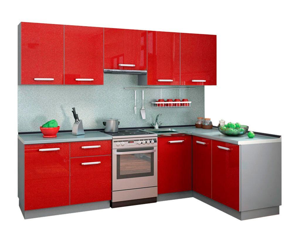 Кухонный гарнитур Симпл 2700х1500 (I категория)