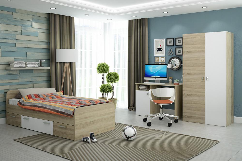 Детская мебель СтолЛайн Мика (белый)