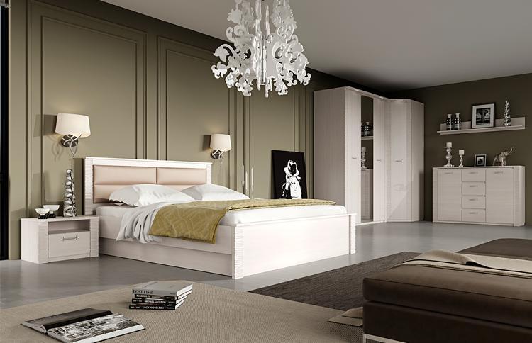 Спальня МебельГрад Элана Бодега Белая