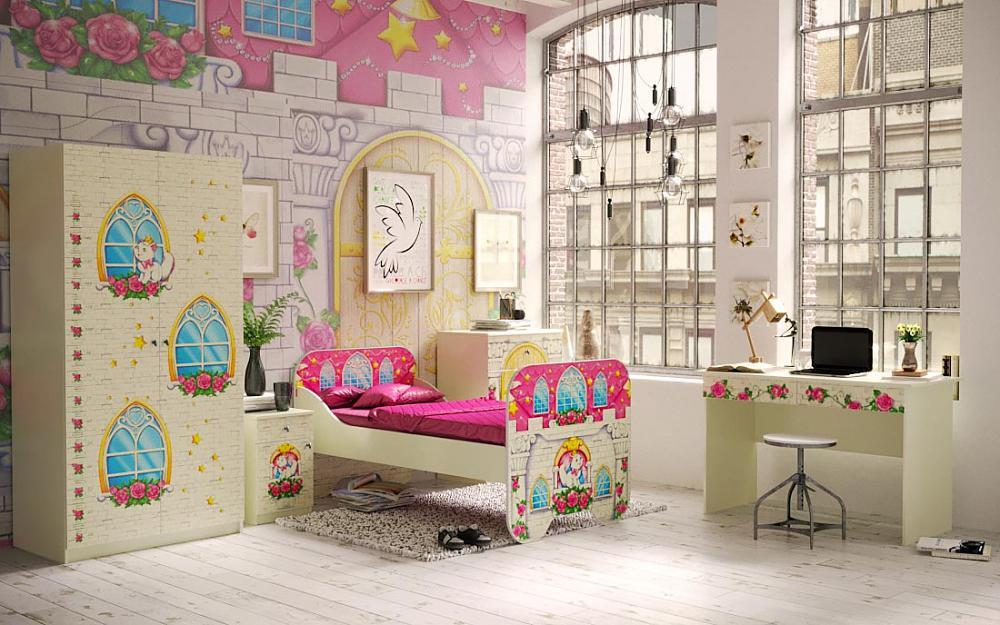 Детская мебель Фанки Замок принцессы