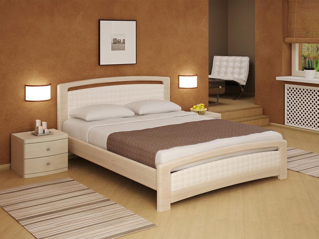 Какую кровать выбрать: Деревянная кровать