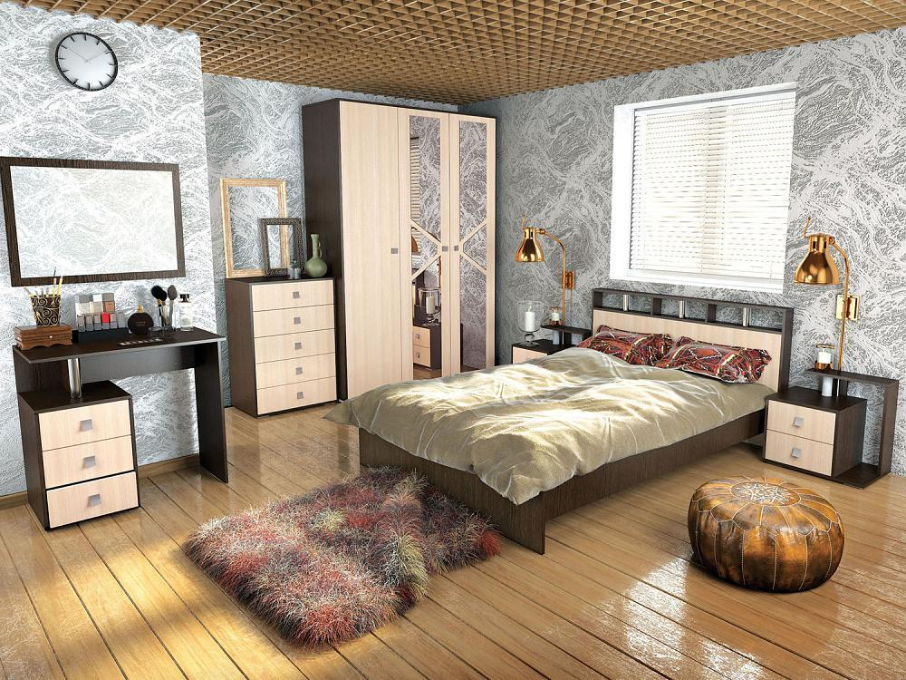 Спальня ТЭКС Ненси