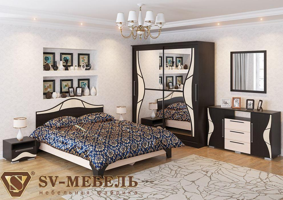 Спальня SV-мебель Лагуна 5