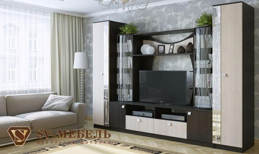 Гостиная SV-мебель Гамма-15