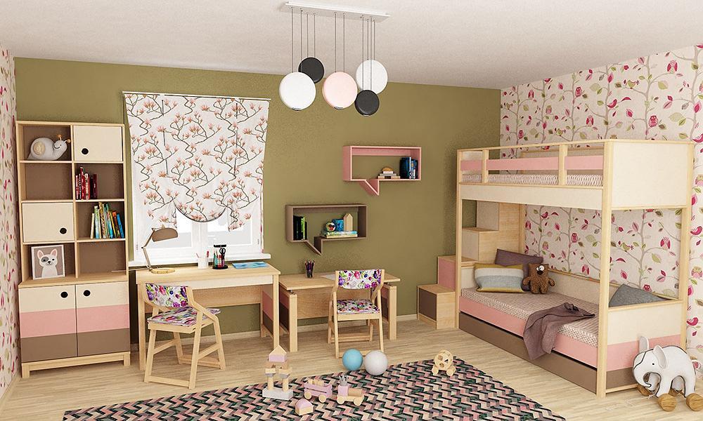 Детская мебель 38 попугаев Робин Вуд