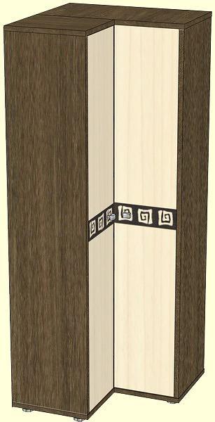 Шкаф угловой для одежды афина. - прихожая афина снята с прои.