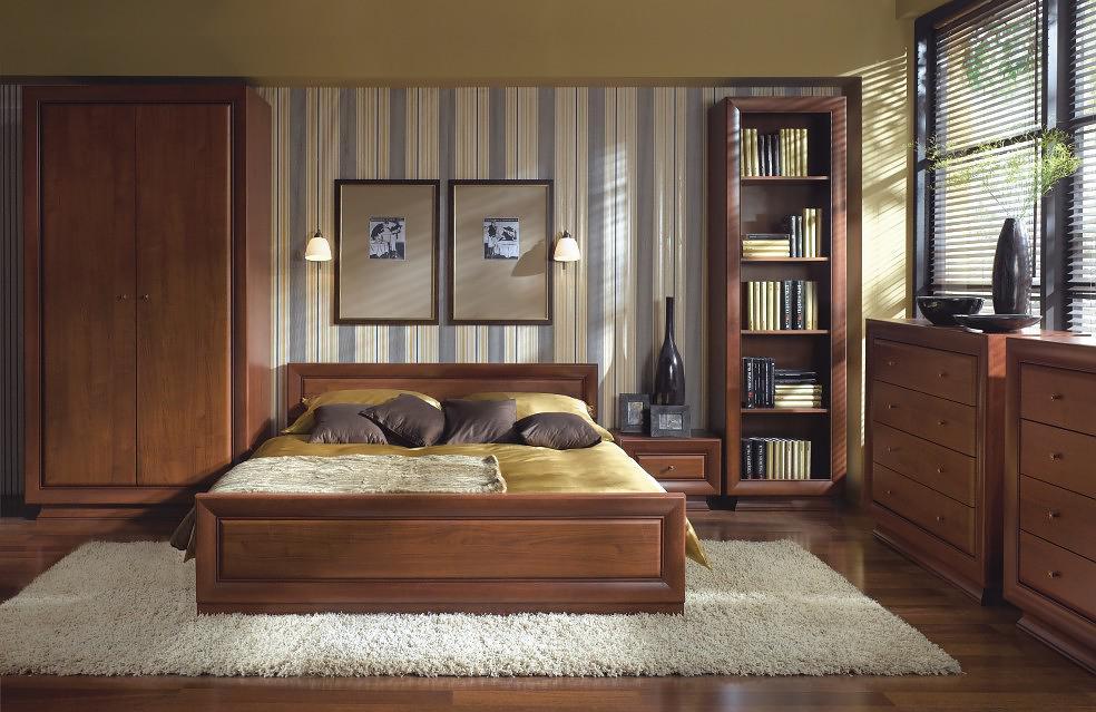 Стили дизайна спален: классическая спальня