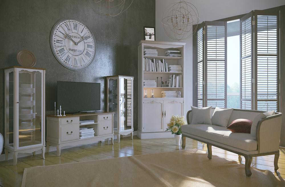 Мебель для гостиной Этaжepкa Leontina