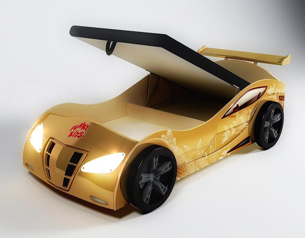 Купить кровать машину с подъемным механизмом