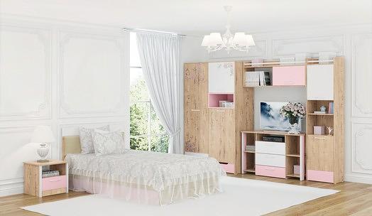 Детская мебель МСТ Дублин Роуз