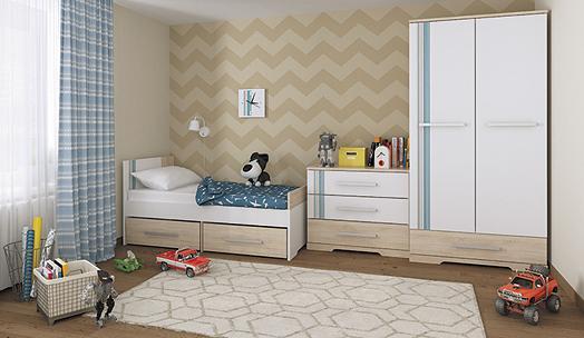 Детская мебель МСТ Лион