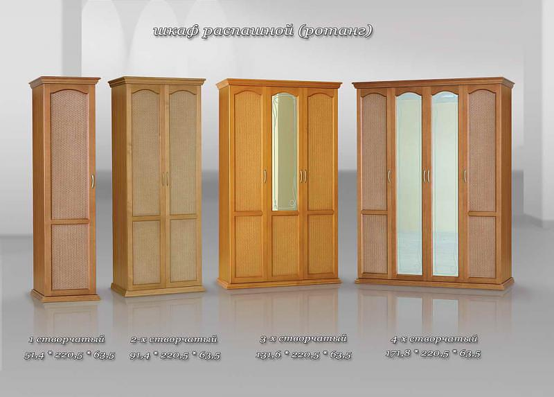 Шкафы фабрики Фокина