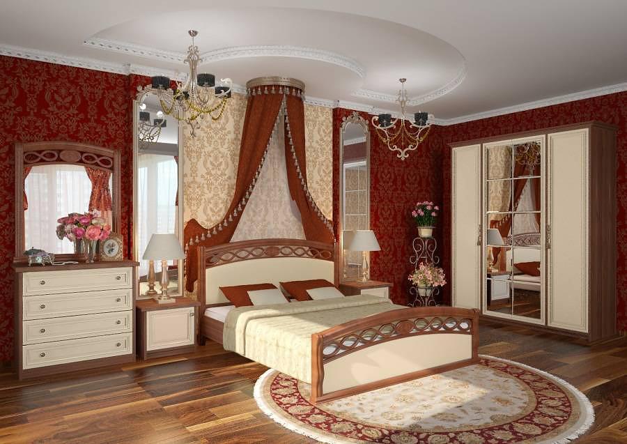 Стили дизайна спален: Исторический стиль в спальне