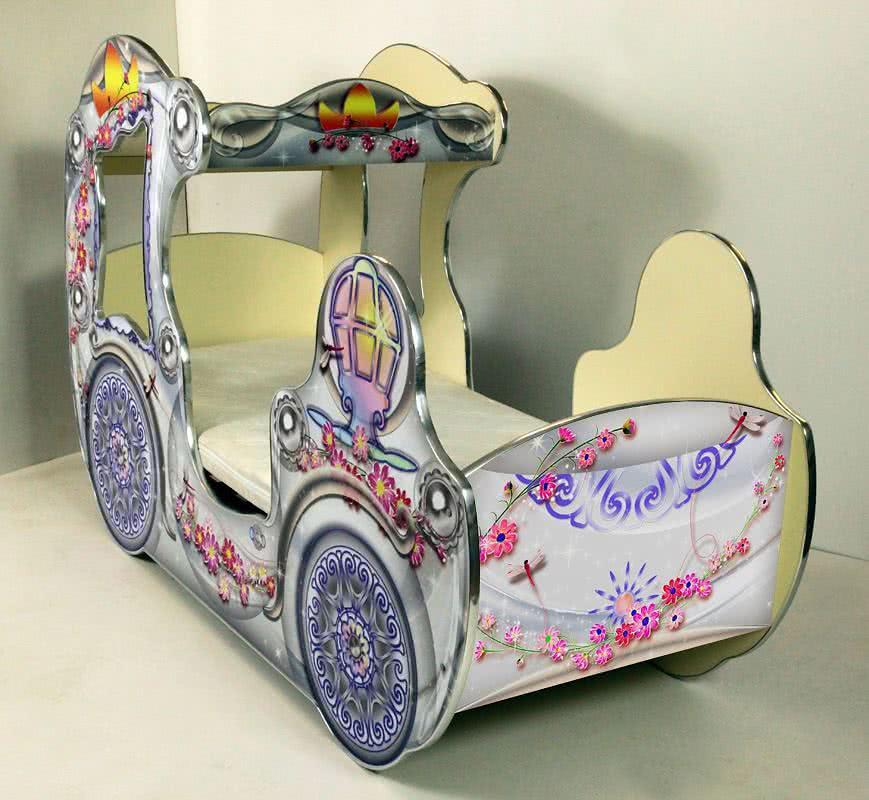 Кровать-карета ВиВера для девочки