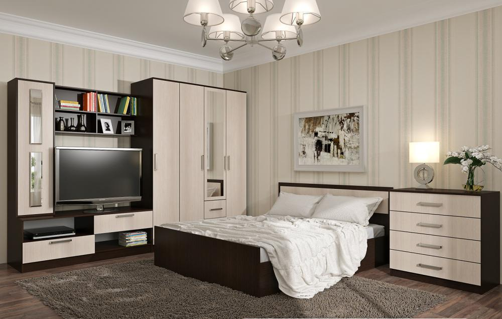 Спальня BTS Фиеста венге