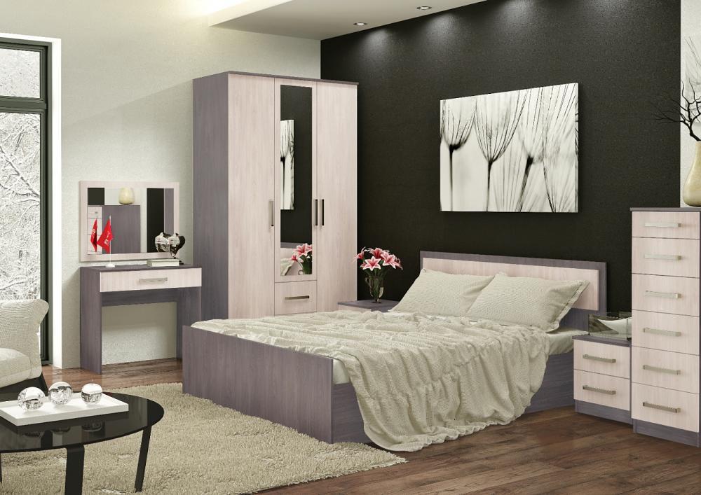 Спальня BTS Фиеста ясень