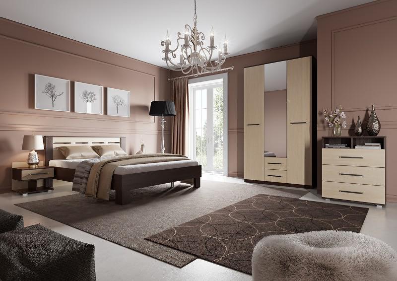 Спальня МебельГрад Женева