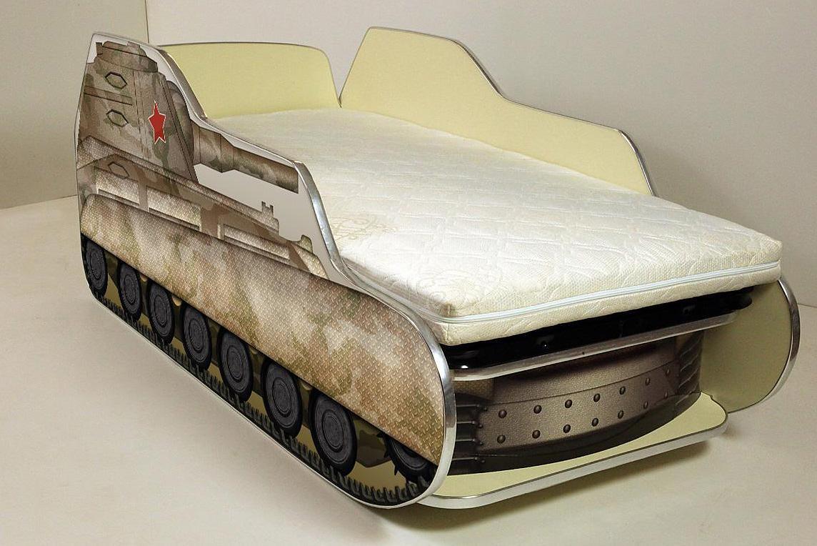 Кровать-машина своими руками фото