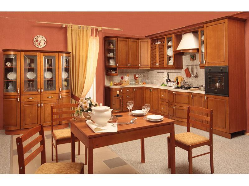 Как правильно спланировать кухню: Кухня Боровичи Массив Люкс