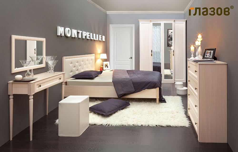 Маленькая спальня Montpellier Глазов