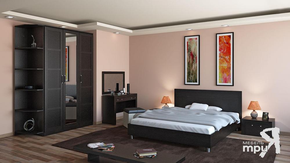 Спальня ТриЯ Токио Венге Цаво