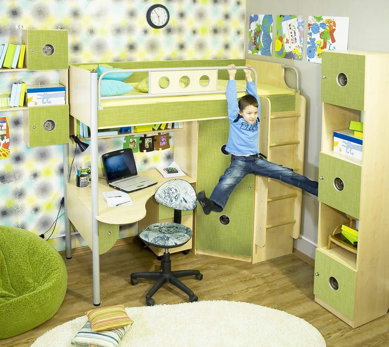 Безопасная детская мебель Полосатый рейс (38 попугаев)