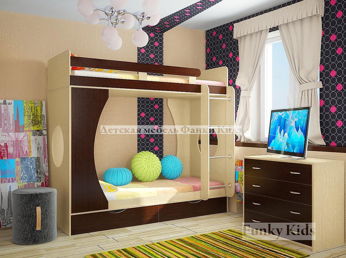 Двухъярусные кровати для детей фото 5