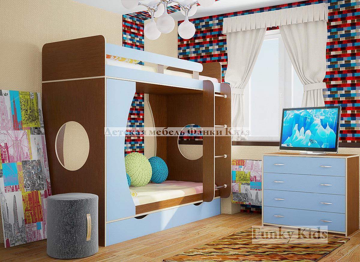 Двухъярусные кровати для детей фото 7