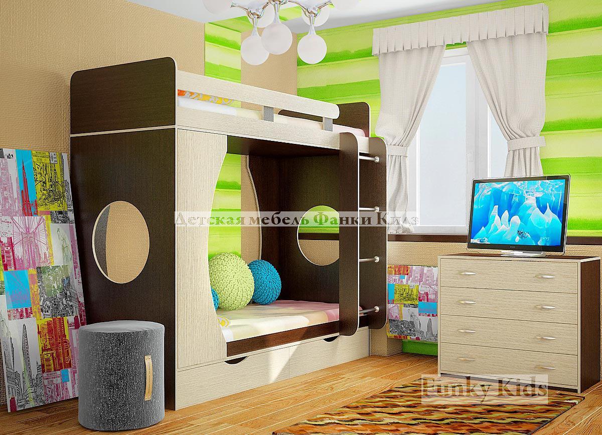 Двухъярусные кровати для детей фото 6
