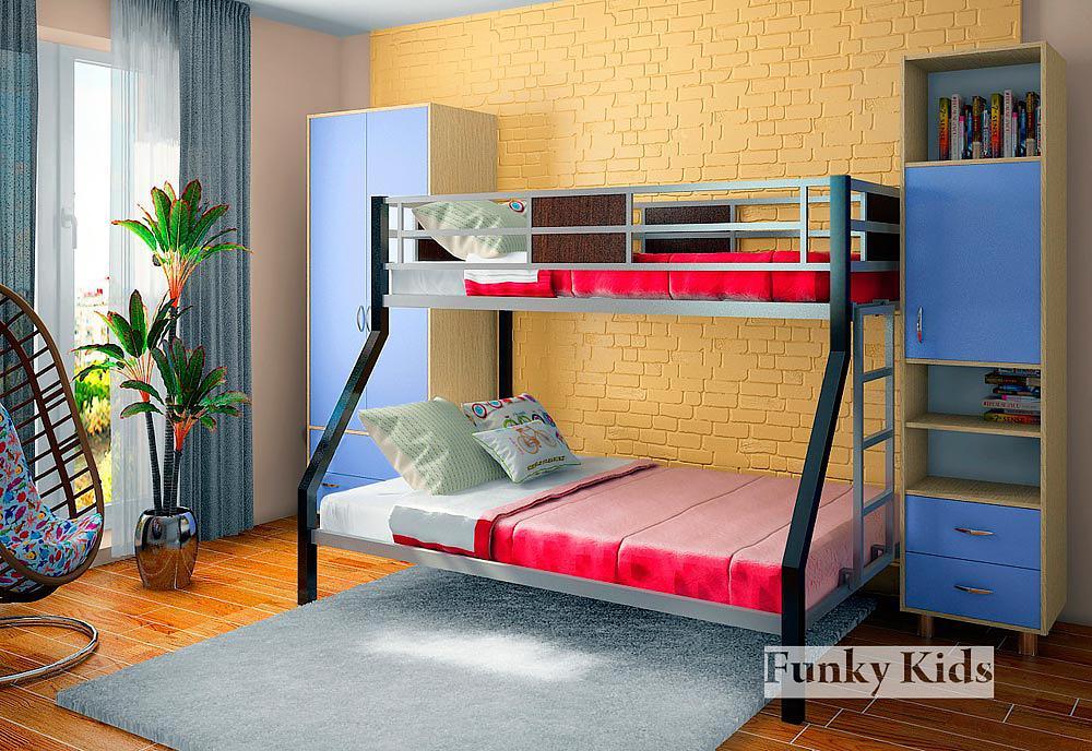 Как на заказ сделать детскую двухъярусную кровать