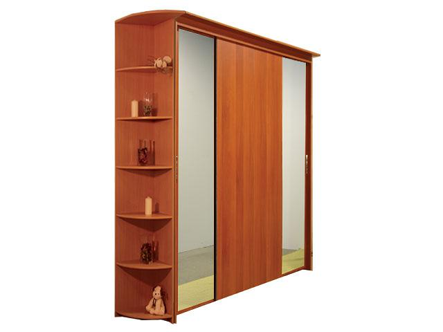 Шкаф-купе 4х дверный с 2 зеркальными дверями. шкаф купе 4 х .