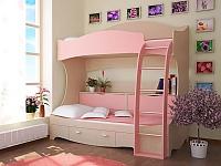 Кровать детская 2-ух ярусная РМК