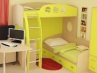 Верхняя кровать-чердак РМК Тандем 2