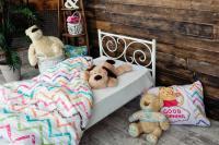 Детская металлическая кровать Мадлен