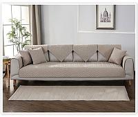 Комплект накидок на широкий трехместный диван Медежда Корфу