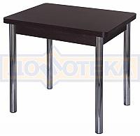 Стол кухонный Домотека Дрезден М-2 ВН 02 венге, ножки хром